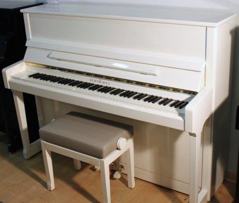 Pianohaus harke schimmel klavier c 116 t wei poliert for Yamaha avantgrand n1 for sale