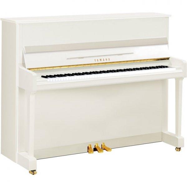 yamaha klavier p116 wei poliert piano harke. Black Bedroom Furniture Sets. Home Design Ideas