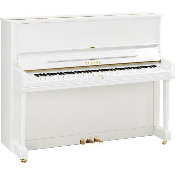 yamaha klavier yus 1 wei poliert piano harke. Black Bedroom Furniture Sets. Home Design Ideas