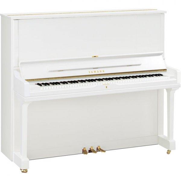 yamaha klavier yus3 wei poliert piano harke. Black Bedroom Furniture Sets. Home Design Ideas