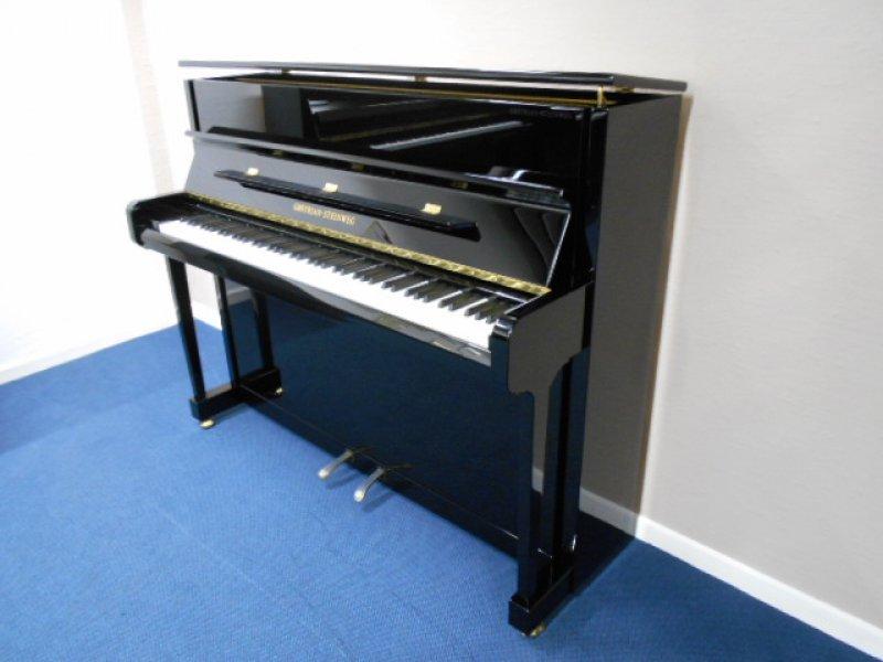 Pianohaus harke grotrian steinweg klavier carat schwarz for Yamaha clavinova clp 535 for sale
